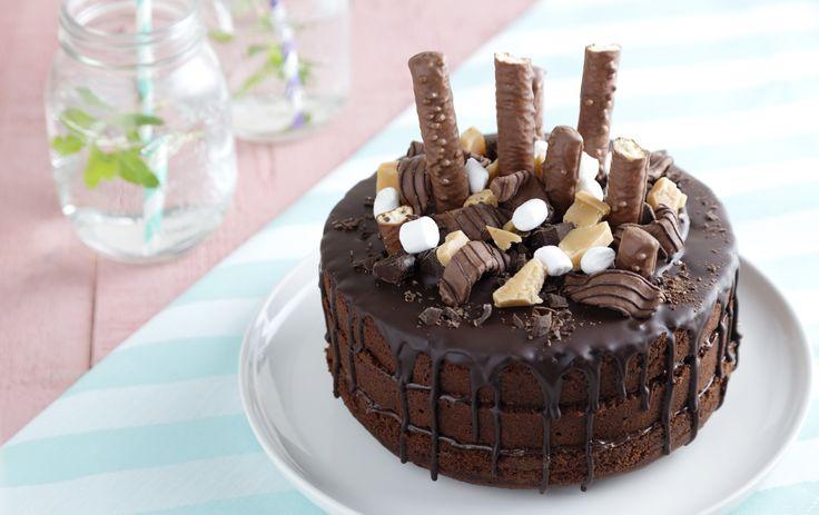 De lekkerste chocoladetaart? Natuurlijk versierd met jouw favoriete chocolade…