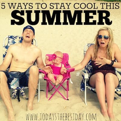 5 ways to beat the summer heat with babies & young children. Car seat cooler- genius!!