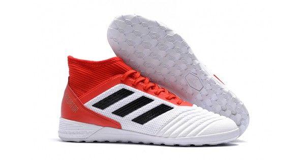 size 40 90ed1 50185 Comprar Botas de futbol Adidas Predator Tango 18.3 IC Blanco Rojo Negro  Nuevas En Línea Sala