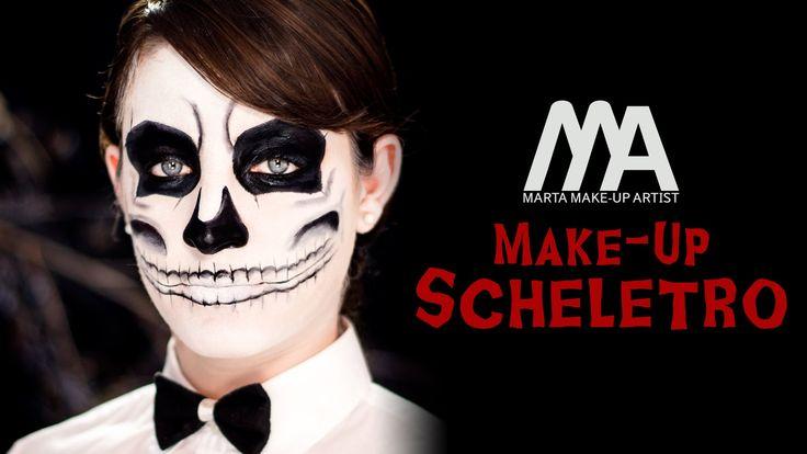 Solo due colori per un makeup per Halloween sempre molto d'effetto: un trucco da scheletro che farà morire di paura!! GUARDA LE ALTRE PUNTATE https://www.you...
