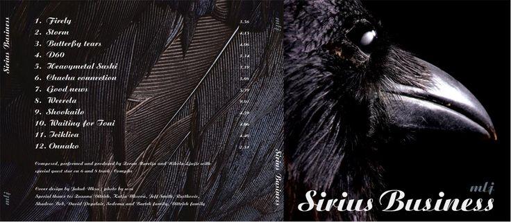 mlj sirius business CD cover, concept and photo by w:u studio & Jakub Uksa