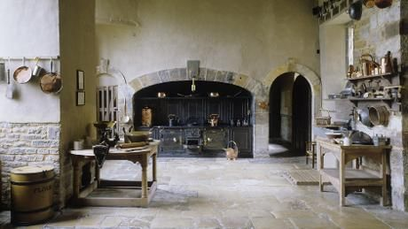 Tudor Interior Design The Kitchen At Canons Ashby Northamptonshire C NTPL Andreas Von Einsiedel