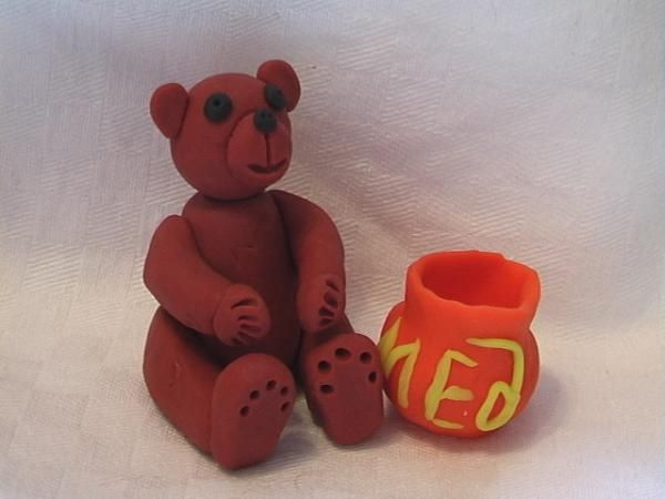 A Bear - crafts for beginners