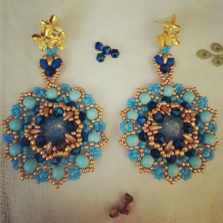 orecchini turchesi