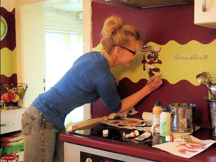 Mer enn 25 bra ideer om Wanddeko küche på Pinterest Deko küche - küchen wand deko