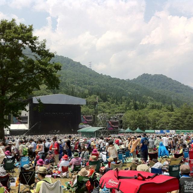 Green stage, Fuji Rock Festival 2012