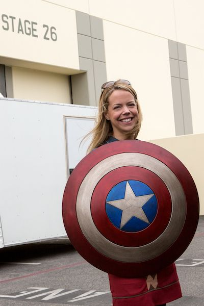 Marybeth Hamilton: Exclusive facts about Captain America's sheild. It's just as amazing as you think it is! #captainamerica