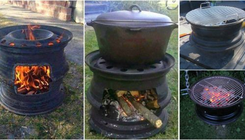 Repurposing at its Finest: How to Make Your Own BBQ Grill from Car Wheels