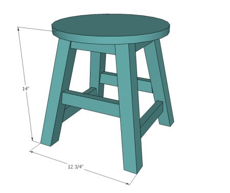Childs Folding Step Stool Plans Woodworking Projects Amp Plans