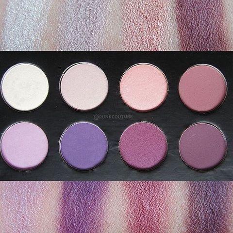 Intensive Augenblicke, dramatische Smokey-Eyes sowie auch leichtes Tages-Make-up - Mit der Purple-Lidschatten-Palette ist alles möglich. Butterwieche, hochpigmentierte Farben. #eyes #shadow #purple #make-up