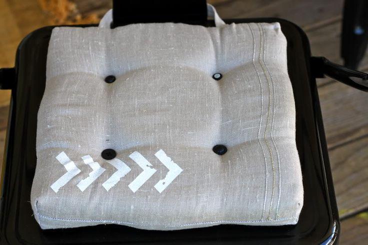 DIY Chair Cushions | Prudent Baby