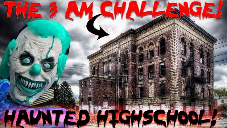 (THE 3 AM CHALLENGE) ATTACKED at HAUNTED VAMPIRE HIGH SCHOOL // OVERNIGH...
