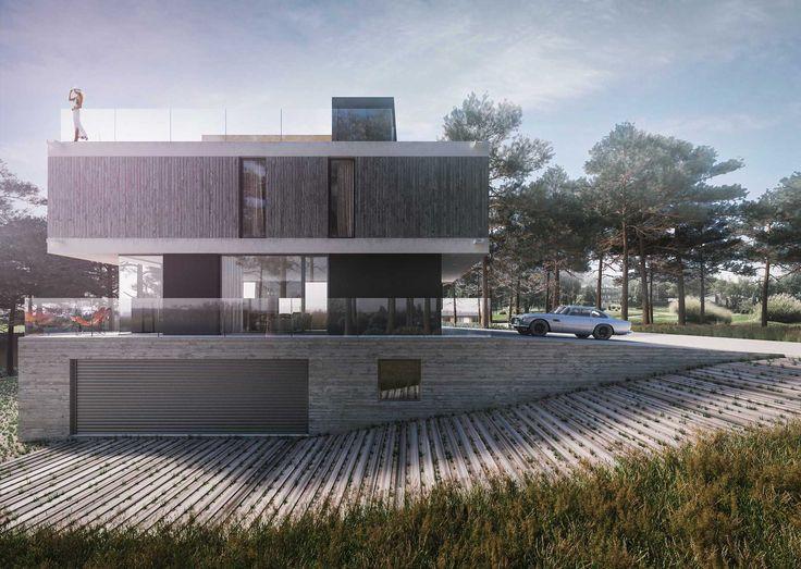CASA PINAMAR - ProyectoC. Autores: Arq. Sebastián Cseh - Arq. Juan Cruz Catania. #arquitectura #architecture #modernhouse #pinamar