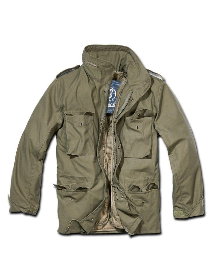 Brandit+M65+Fieldjacket+Olivgrön