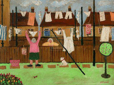 Art print 'Have You Heard' by Gary Bunt - image size w 40 cm x h 30 cm
