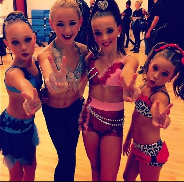 Kenzie, Chloe, Maddie, and Kendall