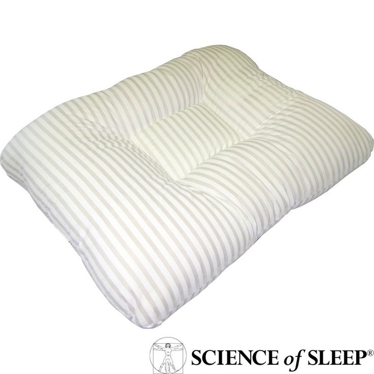 science of sleep dual level therapeutic pillow