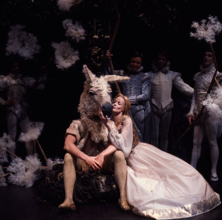 "Maggie Smith as Titania in ""A Midsummer Night's Dream"", 1977"