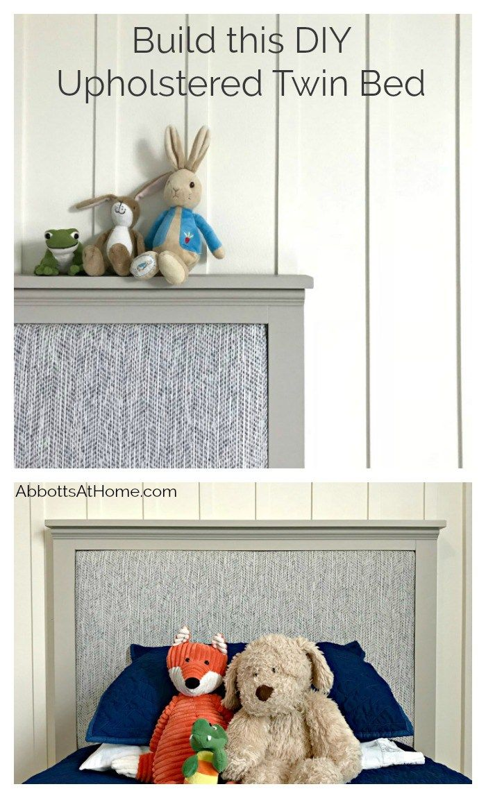 Make A Diy Upholstered Twin Headboard With Videos Diy