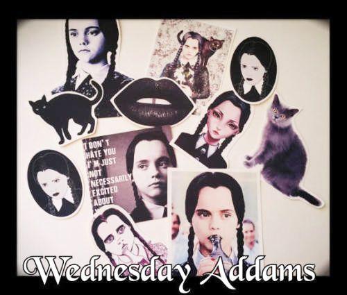 Wednesday addams sticker set-tumblr sticker-Creepy sticker-Gothic Horror Gift in Crafts, Kids' Arts, Crafts, Stickers   eBay!