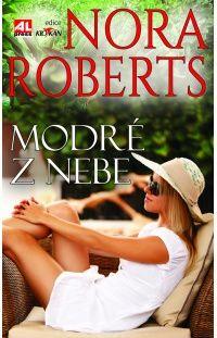 Modré z nebe - Nora Roberts #alpress #noraroberts #bestseller #román #knihy #trilogie