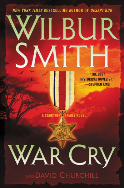 War Cry by Wilbur Smith is out April 4th! The saga of the legendary Courtney family continues in this fourteenth installment in Wilbur Smith's bestselling series—the sequel to 2009's Assegai—a thrilling tale of espionage, adventure, and danger, set in Africa and spanning from the Great War's end to the dark days of World War II.