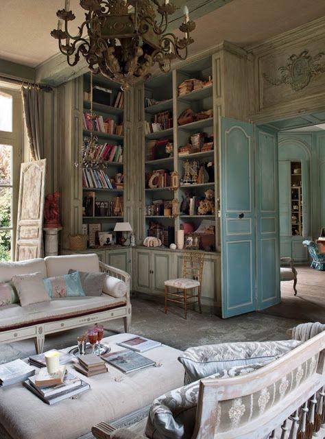 #bibliotheque blue...
