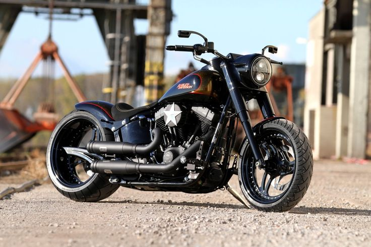 Harley-Davidson Fat Boy / Thunderbike Noisy Boy #Custom #Motorcycle