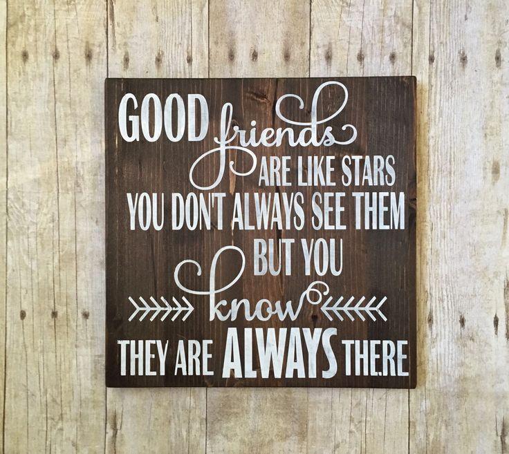 Best friend gift - Good friends are like stars - Going away gift - Best friend - Friend gifts - Gifts for women- Gifts for best friends by PaintedTreasuresbyme on Etsy https://www.etsy.com/listing/275897428/best-friend-gift-good-friends-are-like