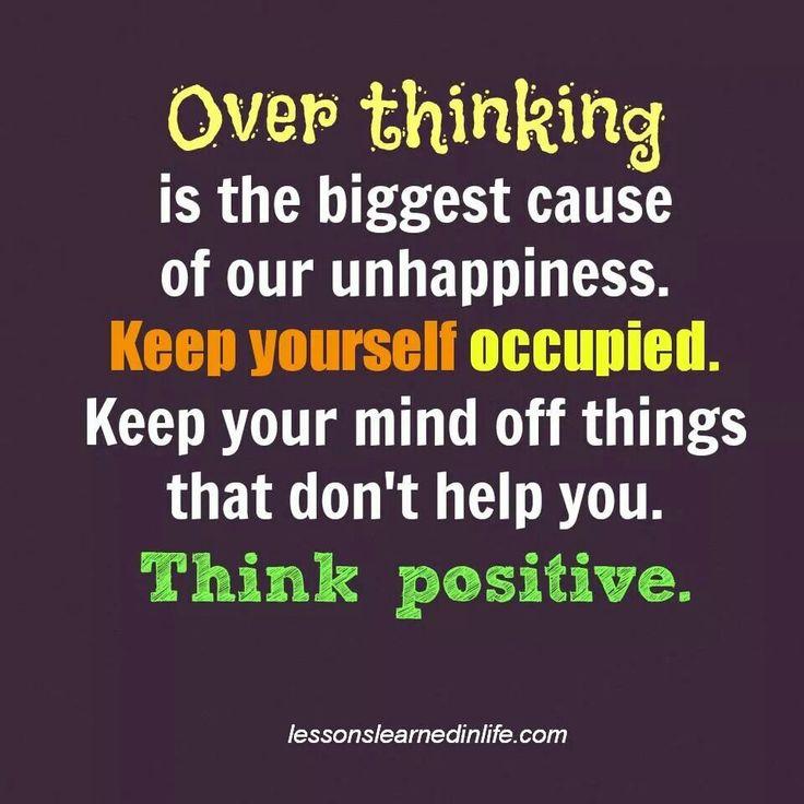 Think positive :D