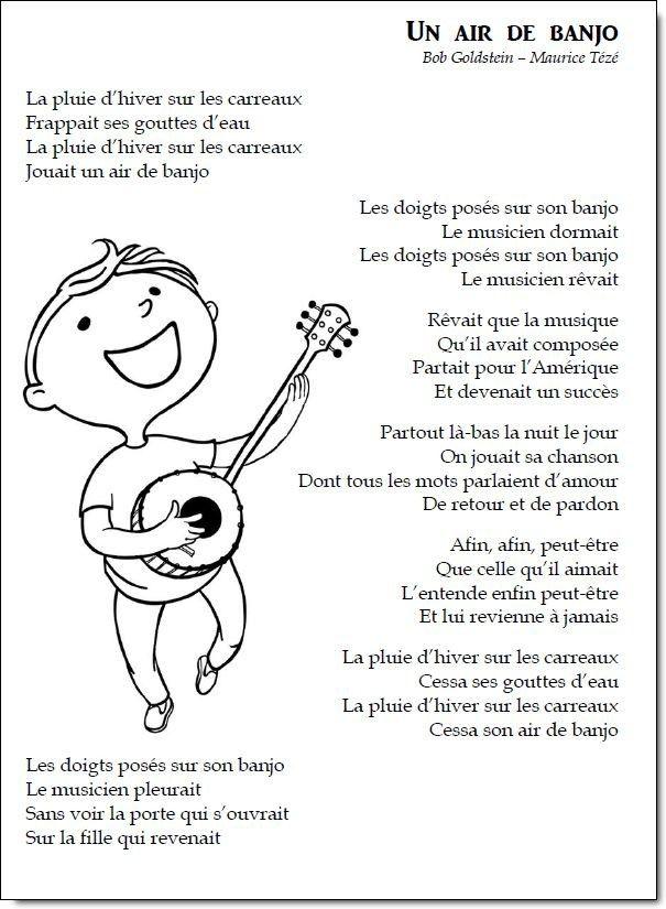 Chant – Un air de banjo   la maîtresse a des yeux dans le dos