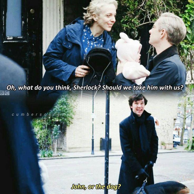 I love Sherlock and Mary's relationship.