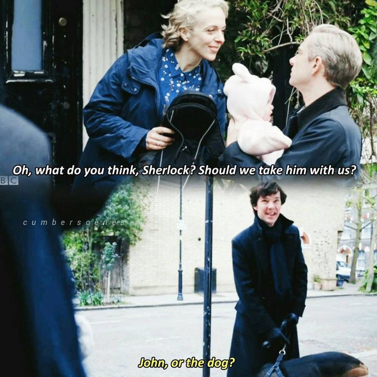I love Sherlock and Mary's relationship.