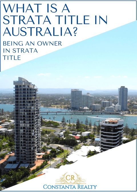 Gold Coast, Australia on photo.  Article: What is strata title in Australia