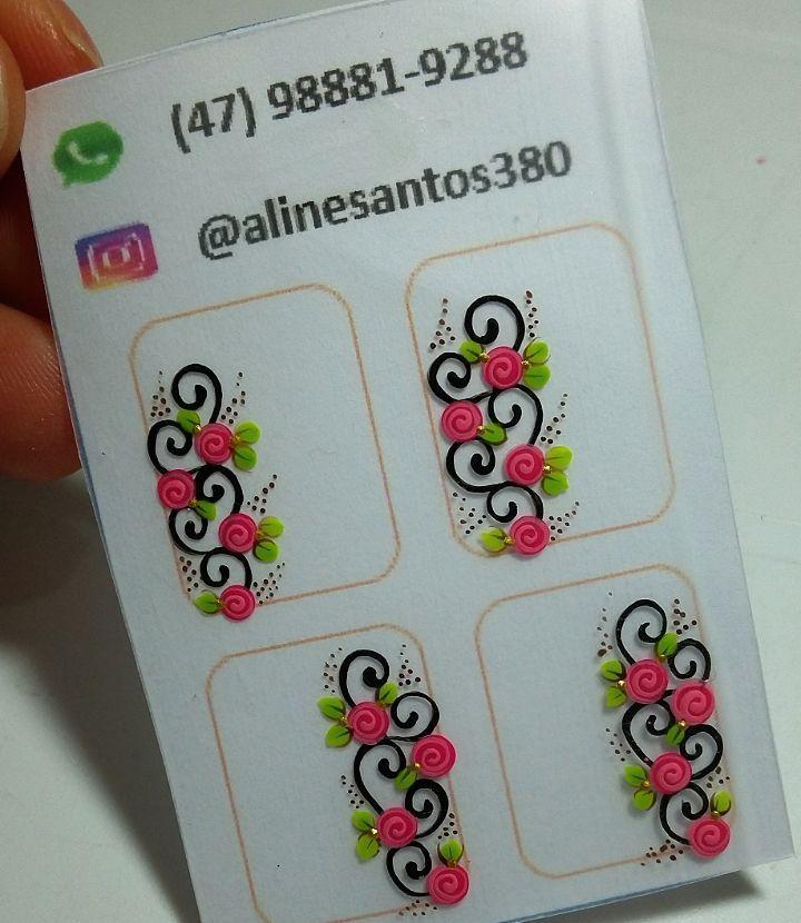 "80 Likes, 3 Comments - aline santos (@alinesantos380) on Instagram: ""#nailsart#nails#adesivoartesanal#adesivoparaunha#arabesco#flores#nailstikers#nailstiker#peliculas#peliculasparaunha#peliculasdeunhas#peliculasdeunha#adesivoartesanal#alinesantos380#nailart#inlove#amonails#brusque#itajai#joinvile#balneariocamburiu#gaspar#saopaulo#saopaulocity#vilaprudentesaopaulo#parquesaolucassp#adesivosartesanais#"""