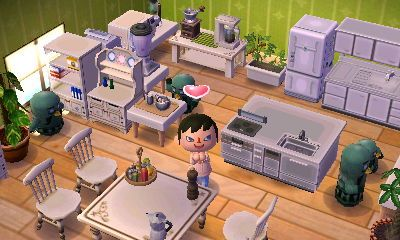 35 best ACNL Home Designs images on Pinterest | Animal ... on Kitchen Items Animal Crossing  id=77248