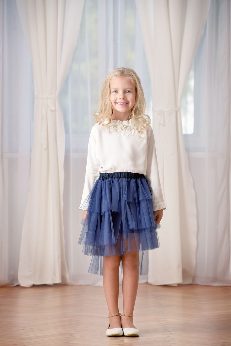 Designers for kids modern tutu interpreted by Rhea Costa, perfect for kids fashion look