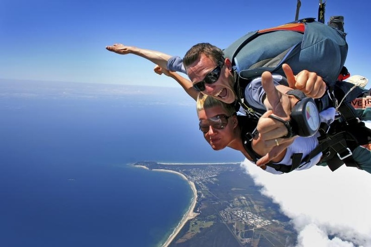 Australia Skydive!! Jump from the roof 14,000ft #australiaskydive #skydive #tandemskydive