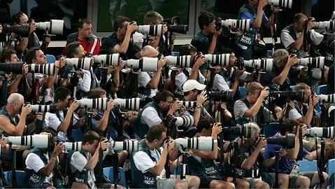 Fotografos en los Juegos Olímpicos, Londres 2012
