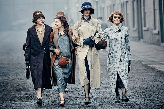 Linda, Esme, Lizzy & Aunt Polly | Peaky Blinders