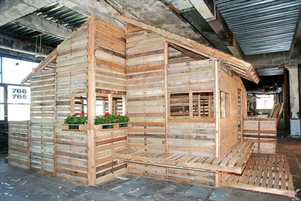 Pallet house plans shelter for homeless recycle home Shelter house plans