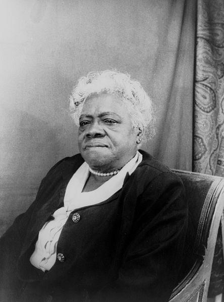 Civil & women's rights activist Mary McLeod Bethune, graduate of…