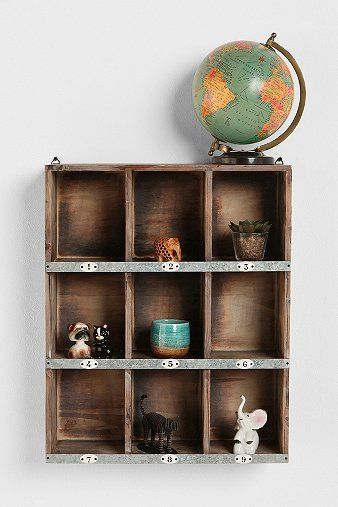 By the door for keys, sunglasses, pictures, flowers?    Little Boxes Wall Organizer: Urbanoutfitters, Little Boxes, Idea, Urban Outfitters, Wall Shelves, Wall Shelf, Organizers, Wall Organizations, Boxes Wall