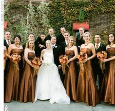bronze wedding dress - Google Search