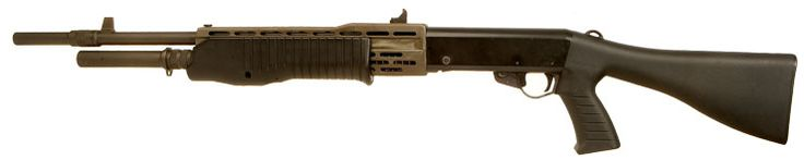 Franchi SPAS 12 Semi Auto Pump Action Shotgun - Live Firearms Loading that magazine is a pain! Get your Magazine speedloader today! http://www.amazon.com/shops/raeind