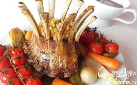 ♔ Delicious Food: Корона из каре ягненка