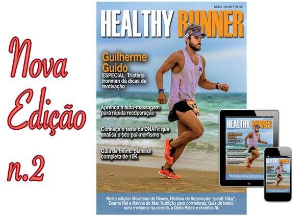 Conheça a revista gratuita Healthy Runner que ensina a correr - Emagrecer Certo