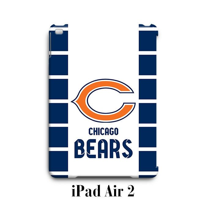 Chicago Bears Custom 2 iPad Air 2 Case Cover Wrap Around