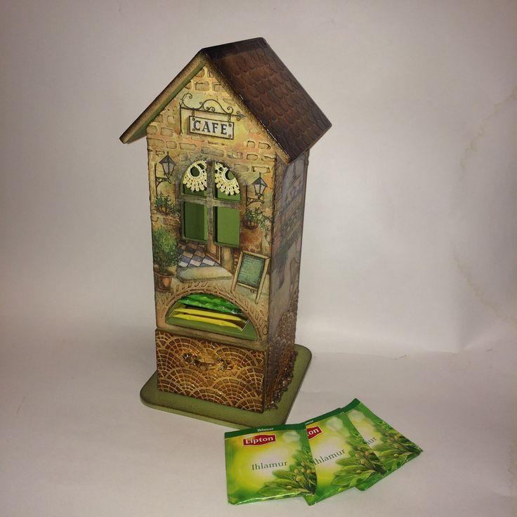 Купить Чайный домик ИТАЛЬЯНСКОЕ КАФЕ с комодом - чайный домик, чайный домик декупаж