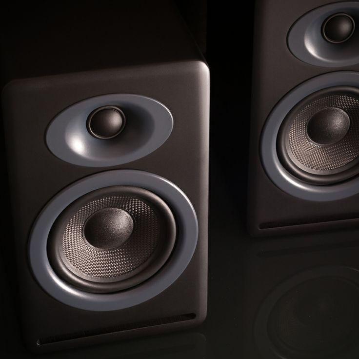 Audioengine P4 Passive Bookshelf Speakers - Massdrop